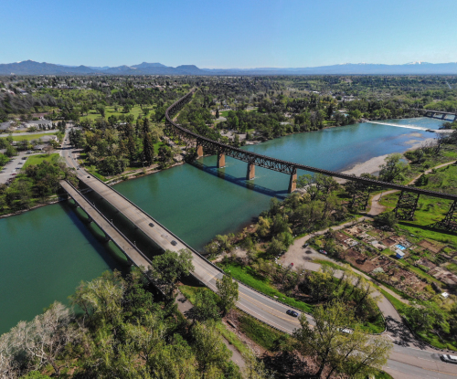 Take A Walk Across The Diestelhorst Bridge In Northern California For Views Of The Sacramento River