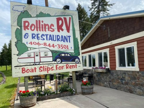Grab A Burger And Rent A Pontoon Boat At This Awesome Spot In Montana