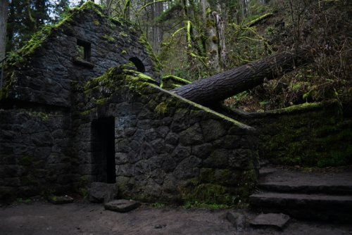 A Mysterious Woodland Trail In Oregon Will Take You To The Original Witch's Castle Ruins