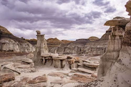 This Incredible 3.7-Mile Trail In New Mexico Will Make You Feel Like You're On An Alien Planet
