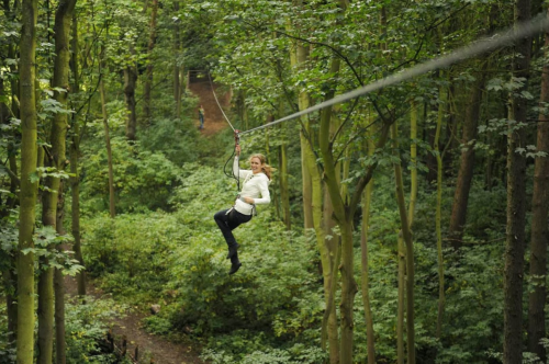 Take A Ride On The Some Of The Longest Ziplines In Maryland At Go Ape
