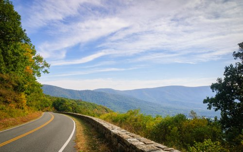 The Longest Scenic Drive In Virginia's Shenandoah National Park Leads To The Blue Ridge Parkway