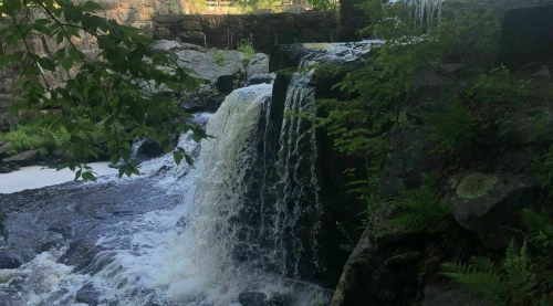 Hike Less Than Two Miles To This Spectacular Waterfall Swimming Hole In Connecticut