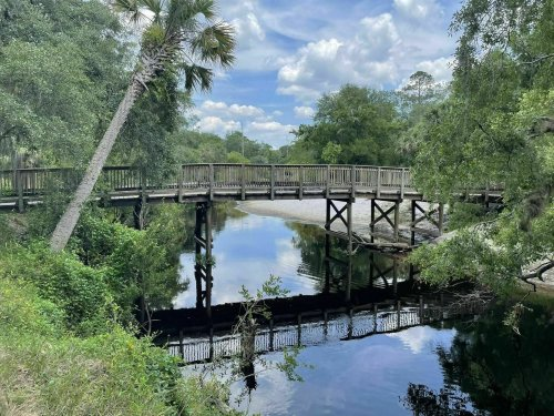 The 5-Mile Kolokee Loop Riverfront Trail In Florida Is Great For All Skill-Levels