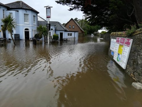 Your photos of the Isle of Wight under water today following torrential rain