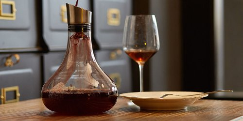 This Elegant Decanter Helps Improve Your Wine's Flavor And Aroma