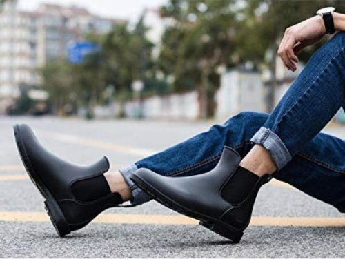 The Perfect Rain Boots Under $35 On Amazon