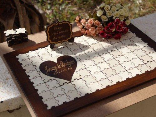 12 Alternative Wedding Guest Book Ideas