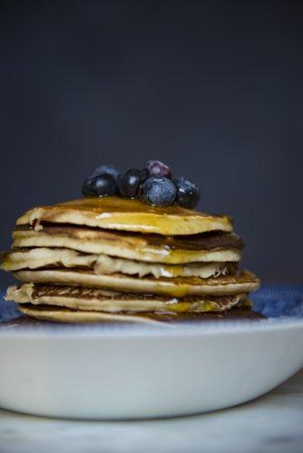 The Easiest Vegan Pancakes