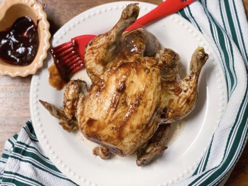 "Easy Instant Pot ""Rotisserie"" Chicken"