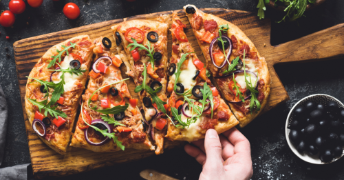 Easy Dinner for Two: Flatbread Pizzas
