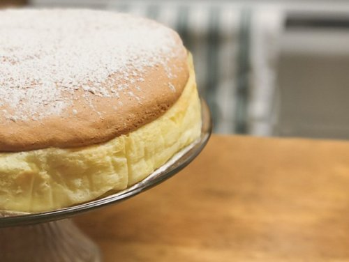 Light And Fluffy Japanese Cheesecake