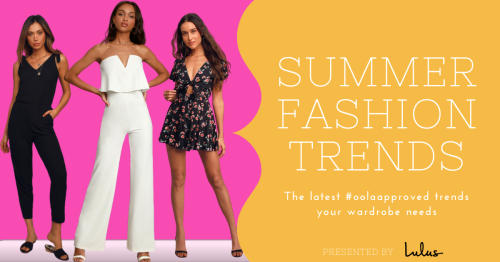 Summer Style Edit: Our Favorite Rompers And Jumpsuits