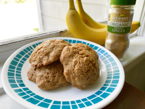 These Ginger Banana Cookies Are Perfect For Summer
