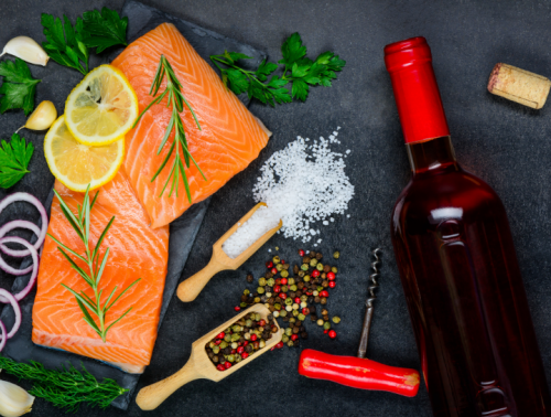 The Best Wines to Pair with Salmon