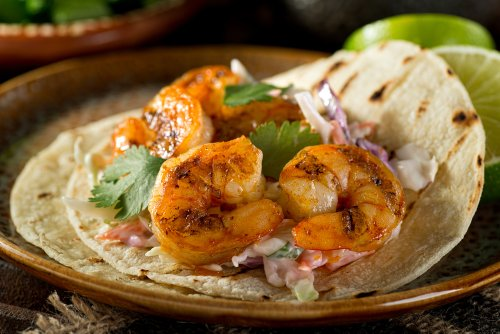 An Easy Shrimp Taco Recipe You Can Make At Home
