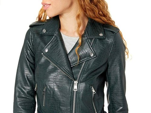 This Levi's Faux Leather Jacket Needs To Be On Your Wishlist