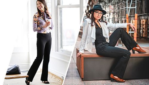 The Perfect Marriage Of Yoga And Dress Pants: Betabrand Review