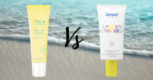 Tula vs Supergoop—We Tested Both Sunscreens
