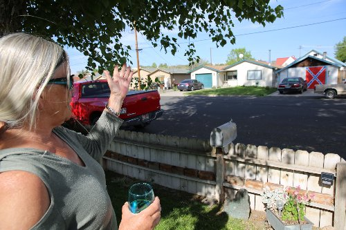 Central Oregonians grapple with racist symbols in a still affordable town