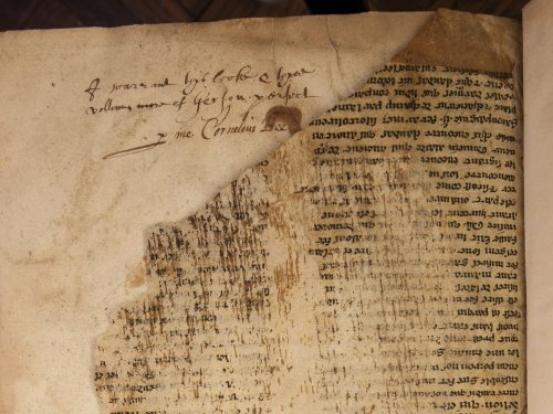 A Rare, Early Version of the King Arthur Legend Found & Translated