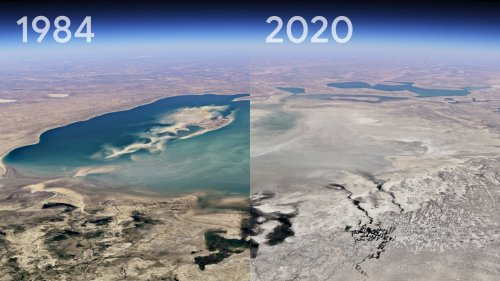 Time-Lapse Video Reveals Humanity's Impact on the Earth Since 1984