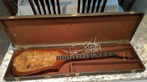 The World's First Bass Guitar (1936)