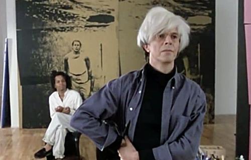When David Bowie Played Andy Warhol in Julian Schnabel's Film, Basquiat