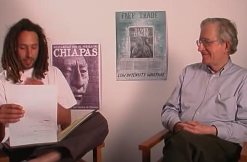 When Rage Against the Machine Interviewed Noam Chomsky (1999)