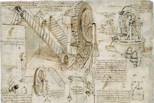 Where to Read Leonardo da Vinci's Notebooks Online: A Roundup of the Renaissance Man's Digitized Manuscripts