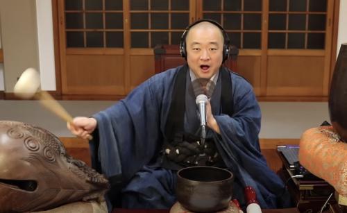 "Buddhist Monk Sings The Ramones: ""Rock 'n' Roll High School,"" ""Teenage Lobotomy"" & ""Beat on the Brat"""