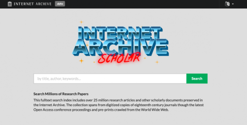 """The Internet Archive Will Digitize & Preserve Millions of Academic Articles with Its New Database, """"Internet Archive Scholar"""""""