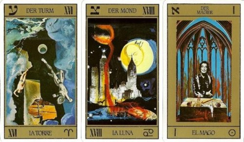 The Artistic & Mystical World of Tarot: See Decks by Salvador Dalí, Aleister Crowley, H.R. Giger & More