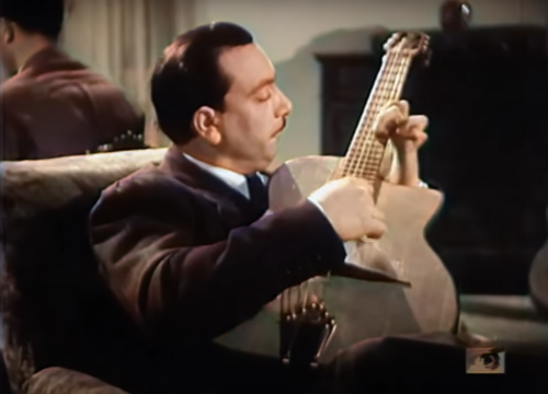 Watch Django Reinhardt & Stéphane Grappelli Play Masterfully Together in Vivid Color (1938)