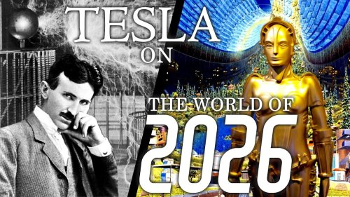 In 1926, Nikola Tesla Predicts the World of 2026