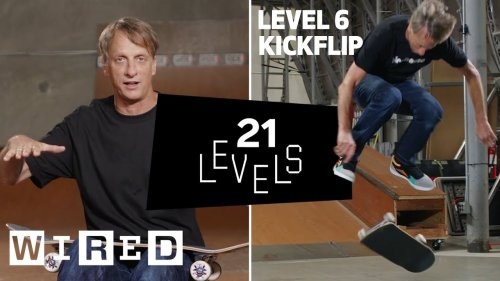 Tony Hawk Breaks Down Skateboarding Into 21 Levels of Difficulty: From Easy to Complex