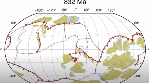 A Billion Years of Tectonic-Plate Movement in 40 Seconds: A Quick Glimpse of How Our World Took Shape
