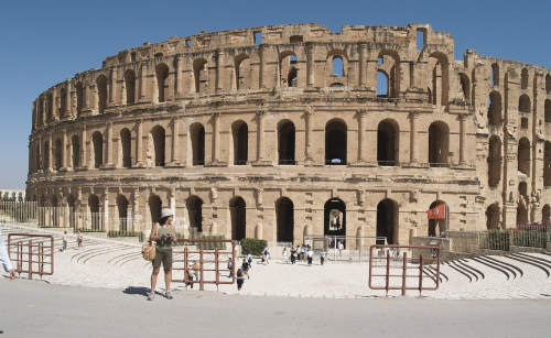 The Roman Colosseum Has a Twin in Tunisia: Discover the Amphitheater of El Jem, One of the Best-Preserved Roman Ruins in the World