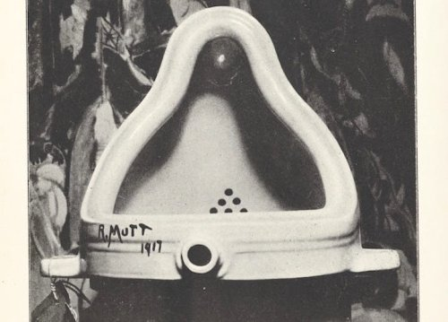 What Made Marcel Duchamp's Famous Urinal Art–and an Inventive Prank