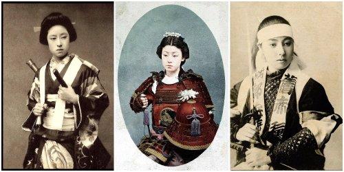 Female Samurai Warriors Immortalized in 19th Century Japanese Photos