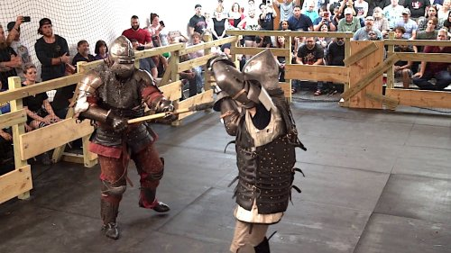 What It's Like to Actually Fight in Medieval Armor