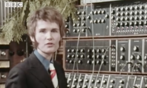 Wendy Carlos Demonstrates the Moog Synthesizer on the BBC (1970)