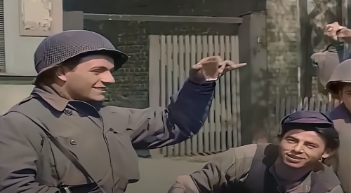 Watch Footage of the Allies Rolling Through a Defeated German Town in April, 1945: Restored & Colorized with AI