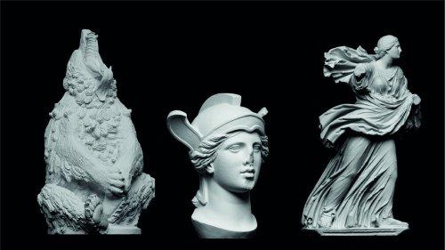 3D Print 18,000 Famous Sculptures, Statues & Artworks: Rodin's Thinker, Michelangelo's David & More