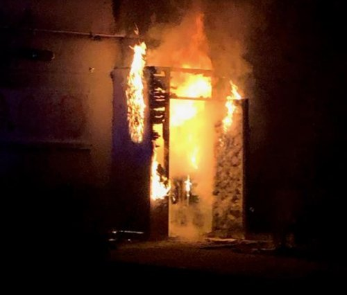 19-yr-old accused of setting fire to Portland police union building now faces federal arson charge