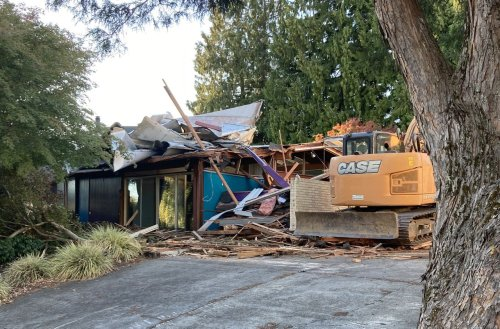 Oregon's only midcentury aluminum Alcoa Home bulldozed in SW Portland