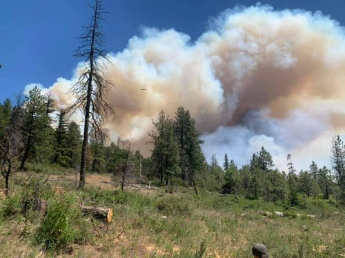 Wildfire southeast of Mount Hood grows to 6,700 acres; Klamath County fire remains at 1,000 acres