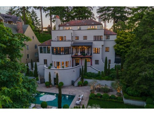 Hollywood-style Mediterranean in Portland Heights is for sale at $4.2 million