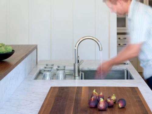 Aha! Hack: A Behind-the-Sink Dish Drying Rack - The Organized Home