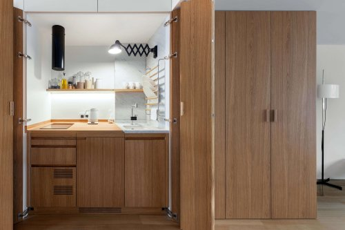 The Secret Apartment: A Hyper Efficient Moscow Flat with Stealth Storage